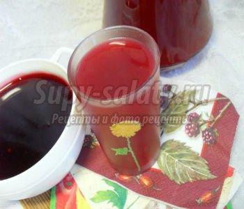 Варенье-желе из малины и черной смородины, кисель из жмыха. Рецепт с пошаговыми фото