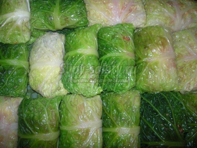 рецепты из савойской капусты на зиму