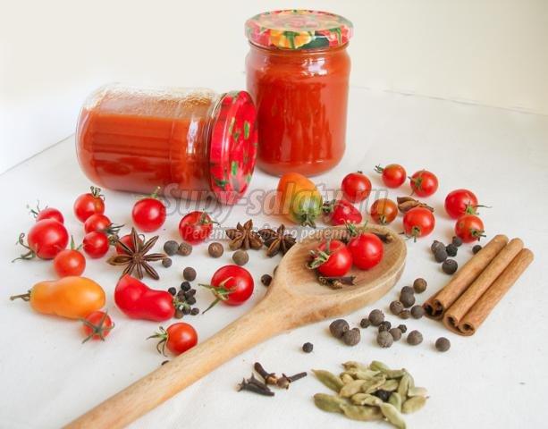 пряный, домашний кетчуп