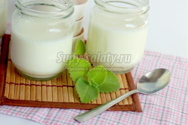 йогурт в йогуртнице из закваски
