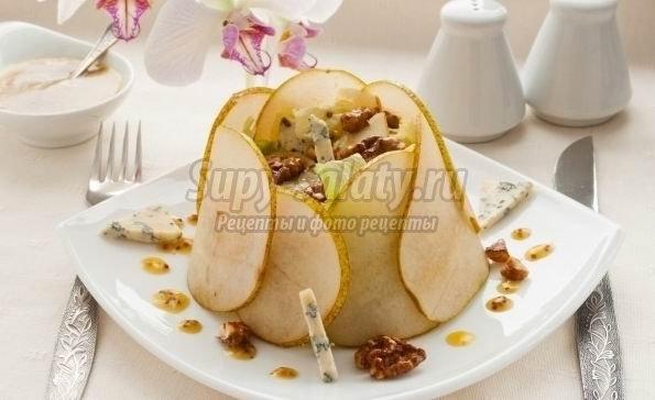 Готовим салат с дор блю