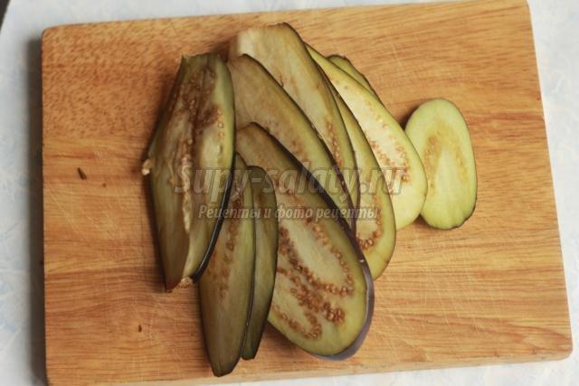 рецепт баклажанов в духовке рецепт с фото