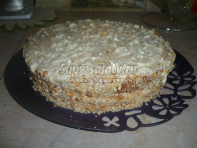 бисквитный торт. Ягодная полянка