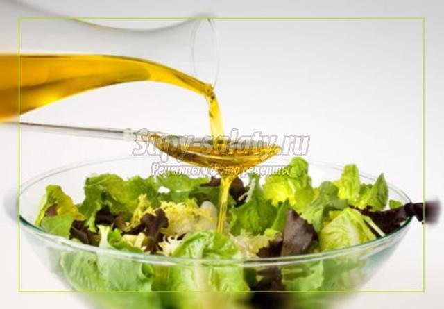 оливковое масло в кулинарии