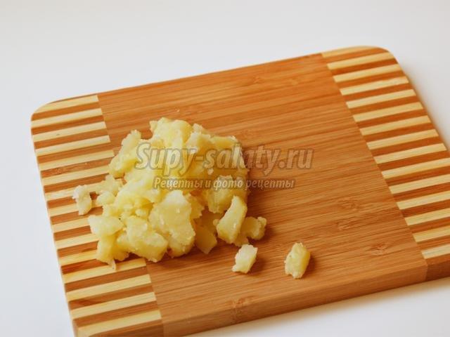 салат с селедкой и морской капустой