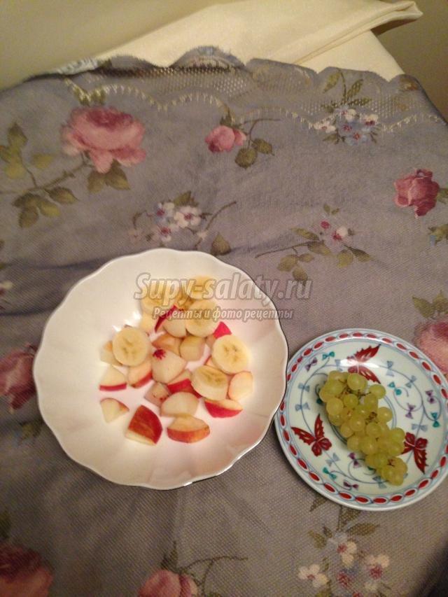 фруктовый салат. Лето