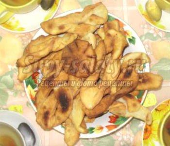 Имбирные профитроли с манго, пошаговый рецепт с фото