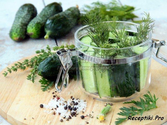 огурцы на зиму - рецепты