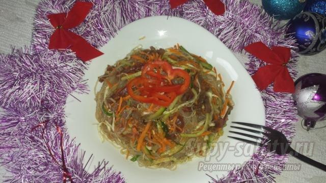 Новогодние салаты пошаговые фото рецепты