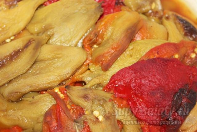 перец жареный консервированный на зиму