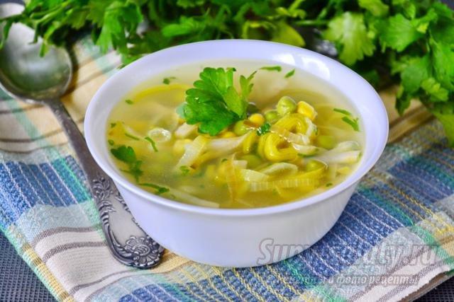 Луковый суп с сельдереем рецепт