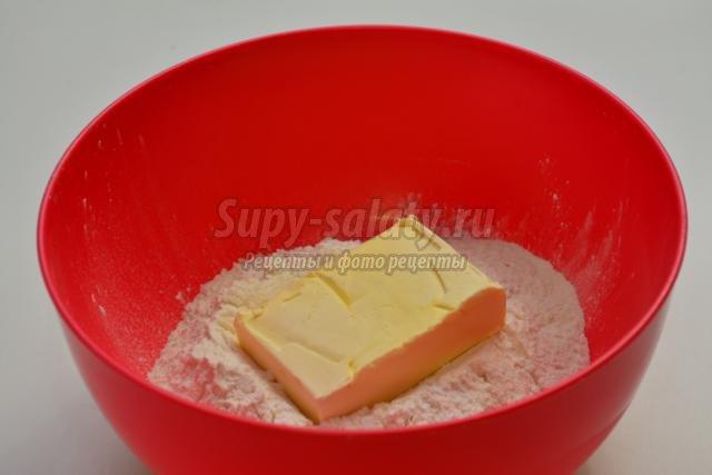 песочный торт с суфле. Слезы ангела