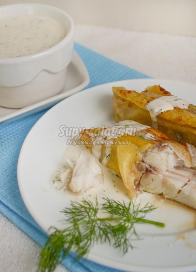 Камбала в кляре рецепт с пошагово