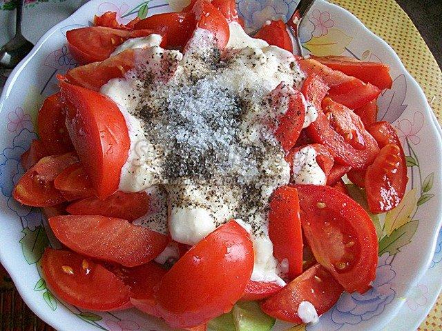 Салаты. Рецепты из помидоров