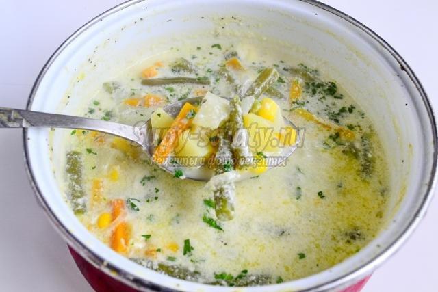 овощной суп. Суккоташ