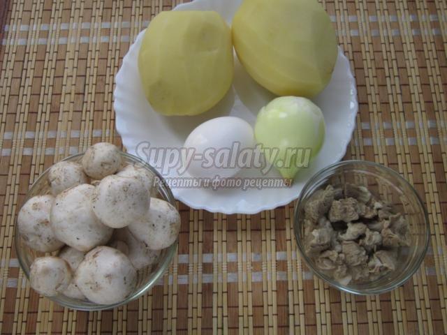 Картофельные грибочки рецепт с фото