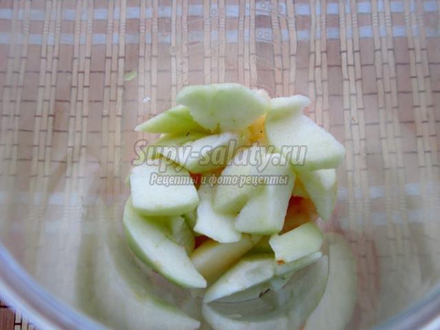 смузи из ежевики и яблока
