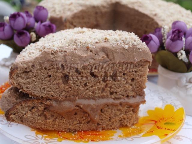 Торт «Прага». Рецепт с пошаговыми фото