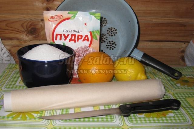 цитрусовые цукаты из тыквы