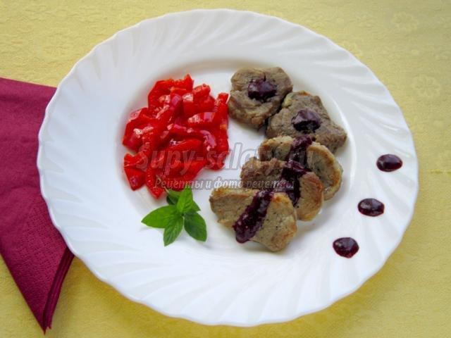 Ресторанный блюда из мясо