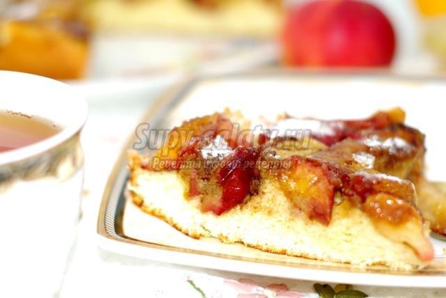 Шарлотка с яблоками - Пошаговый рецепт с фото