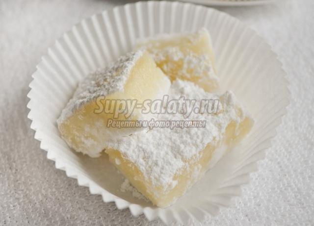 яблочная пастила с желатином