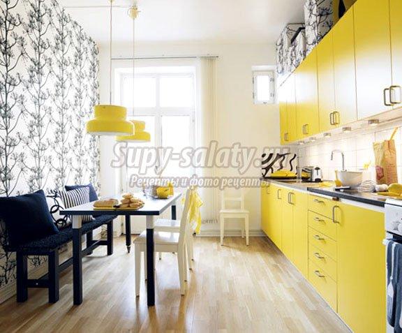 Использование цвета в интерьере кухни