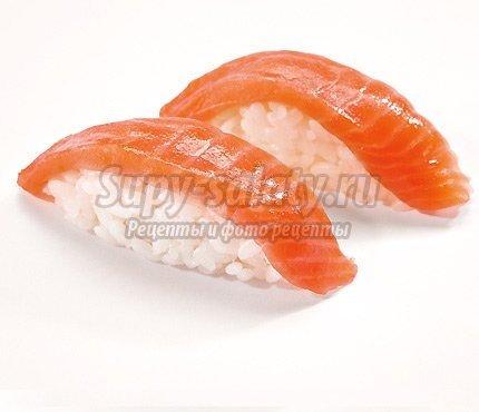 Нигири: пошаговый рецепт приготовления суши с семгой