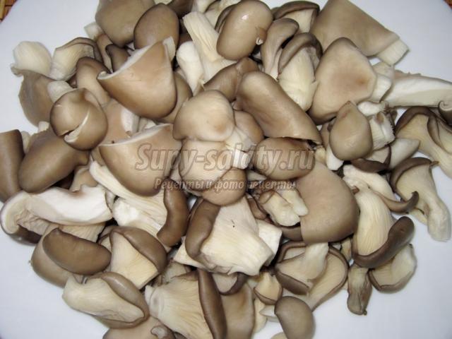 как замариновать грибы вешенки