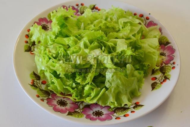овощной салат к Новому году