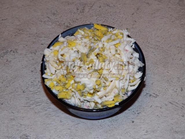слоеный салат. Селедка под шубой