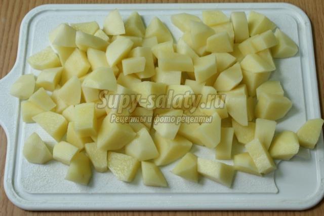 Рецепт тушкованої картоплі з капустою