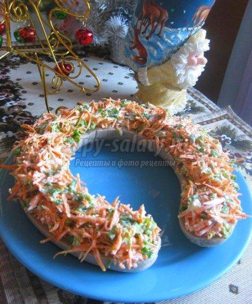 Праздничные салаты на Новый год 2014