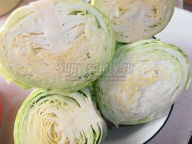 Как квасить капусту пошаговое