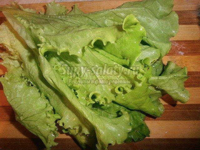 новогодний рецепт салата с креветками и