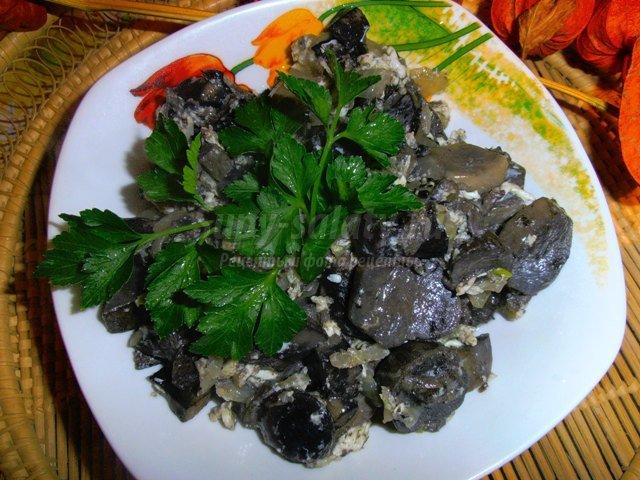 грибной суп-пюре из белых грибов сушеных рецепт