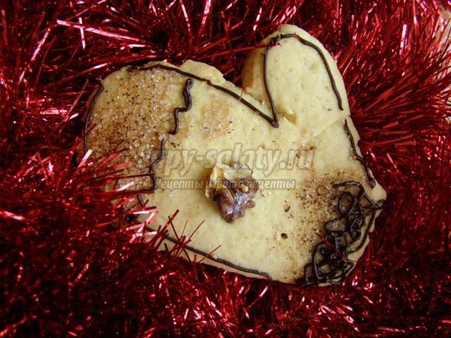 новогоднее печенье. Лошадка, снеговик, елочка, рукавичка