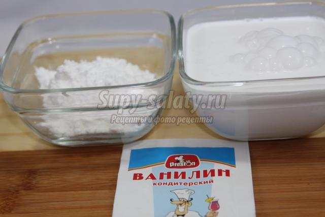 Рецепт белкового крема для эклеров с пошагово