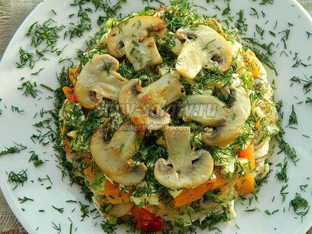 Вкусные рецепты с грибами на новый год
