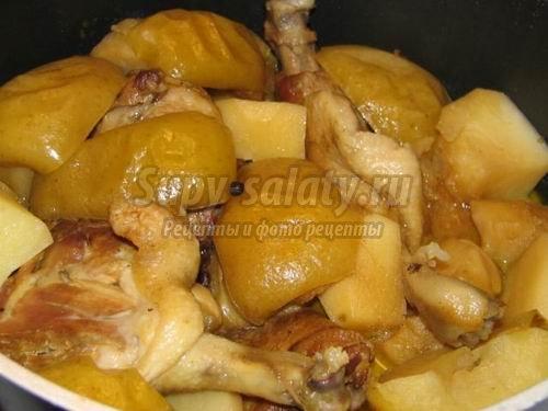 Тушёная утка - блюдо для настоящих гурманов