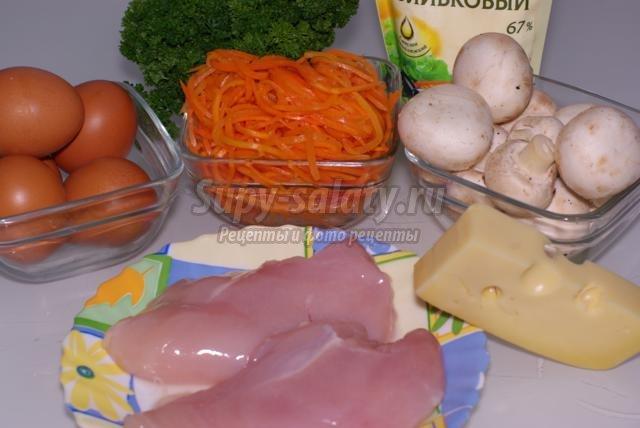 Рецепт и описание приготовления салатов
