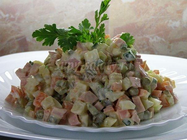 оливье рецепты