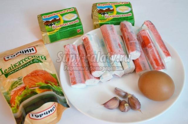 рецепт закуски рафаэла