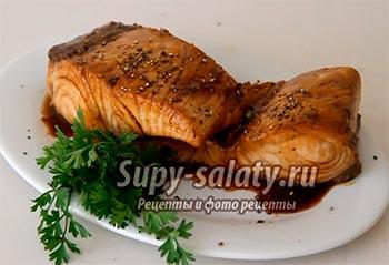 рыба в остром соусе