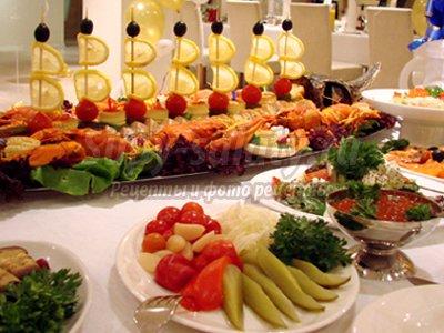 Экономичная свадьба: заказываем еду на дом