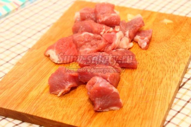 соус из картофеля с мясом