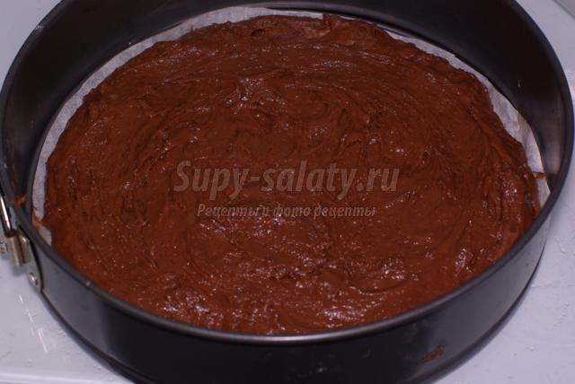 Торт с вишней и орехами рецепт с пошагово