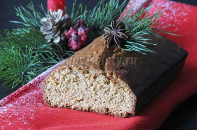 рождественский имбирный кекс