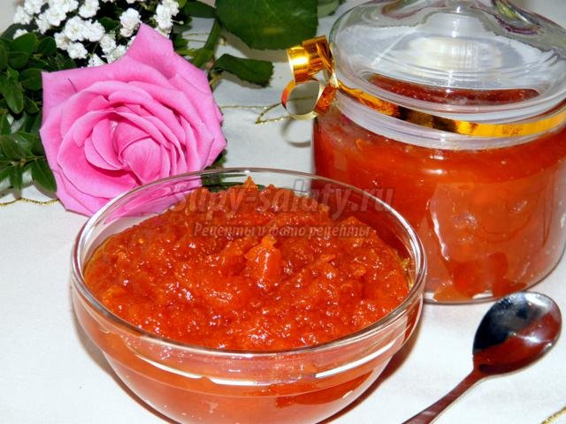 варенье из тыквы с апельсиновым желе