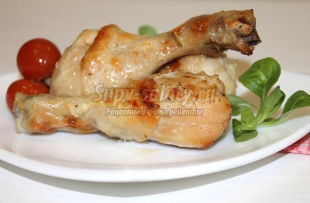 куриные голени в кефире